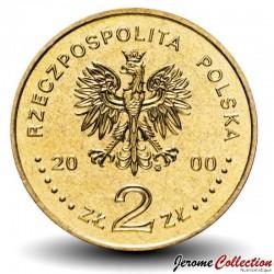 POLOGNE - PIECE de 2 ZLOTE - 20 ans de Solidarność - 2000