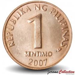 PHILIPPINES - PIECE de 1 Sentimo - 2007 Km#273