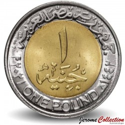 EGYPTE - PIECE de 1 Pound - Journée de la police - Bimétal - 2021