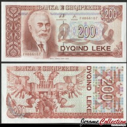 ALBANIE - Billet de 200 Leke - Ismail Qemali - 1996 P59a