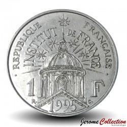 FRANCE - PIECE de 1 Franc - Institut de France - 1995 Km#1133