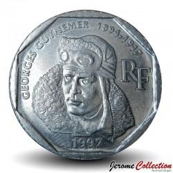 FRANCE - PIECE de 2 Francs - Georges Guynemer / Cigogne - 1997 Km#1187