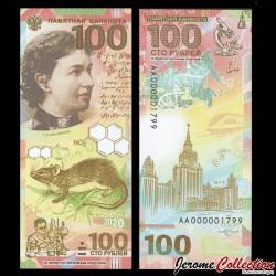 RUSSIE - Billet de 100 Roubles - Sofia Kovalevskaïa - 2020 Sofia100