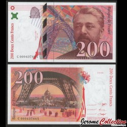 FRANCE - Billet de 200 Francs - EIFFEL - 1996 F75(2)