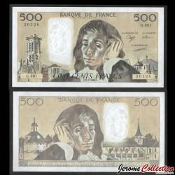 FRANCE - BILLET de 500 Francs - Blaise Pascal - 2.3.1989 P156g4