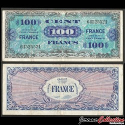 FRANCE - BILLET de 100 Francs - 1944 P123c