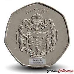 GUYANA - PIECE de 10 Dollars - Chercheur d'or - 1996