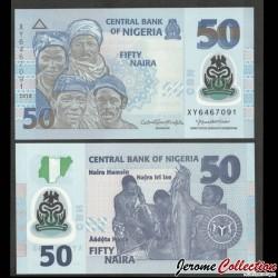 NIGERIA - Billet de 50 Naira - Polymer - 2020 P40J