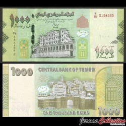 YEMEN - Billet de 1000 Rials - Forteresse de Zabid - 2018 P40b