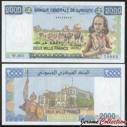 DJIBOUTI - Billet de 2000 Francs - Caravane de Chameaux - 2020 P43b