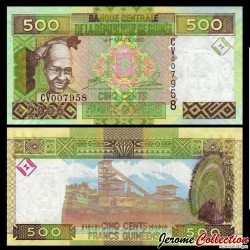GUINEE - Billet de 500 Francs - 2006