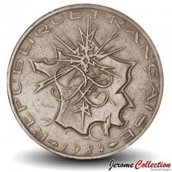 FRANCE - PIECE de 10 Francs - Mathieu - 1984