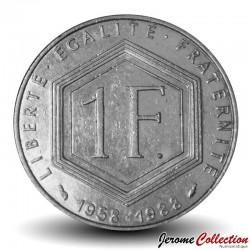 FRANCE - PIECE de 1 Franc - De Gaulle - 1988