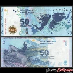 ARGENTINE - Billet de 50 Pesos - Gaucho Antonio Rivero - 2015 P362a