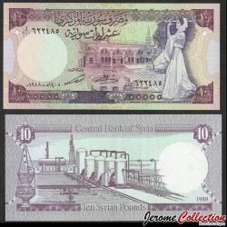 SYRIE - BILLET de 10 Livres Syriennes - 1991 P101d