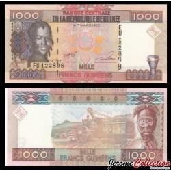 GUINEE - Billet de 1000 Francs - 2006