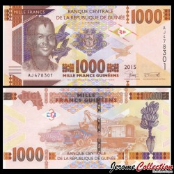 GUINEE - Billet de 1000 Francs - 2015