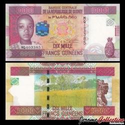GUINEE - Billet de 10000 Francs - 2012