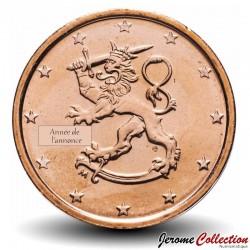 FINLANDE - PIECE de 1 Cent d'Euro - Le lion de Finlande - 1999 Km#98
