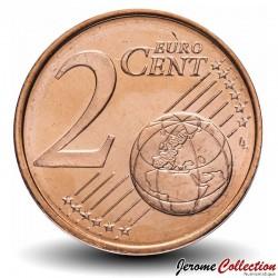 FINLANDE - PIECE de 2 Cent d'Euro - Le lion de Finlande - 2000