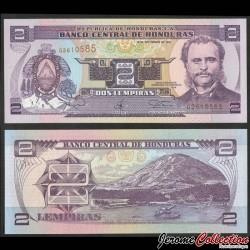 HONDURAS - Billet de 2 Lempiras - Port d'Amapala - 14.09.1997 P80a