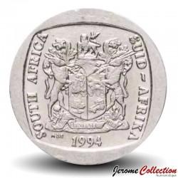 AFRIQUE DU SUD - PIECE de 5 Rand - Un gnou noir - 1994