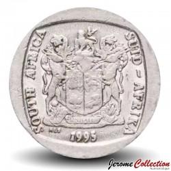 AFRIQUE DU SUD - PIECE de 5 Rand - Un gnou noir - 1995