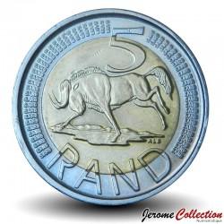 AFRIQUE DU SUD - PIECE de 5 Rand - Gnou - 2009 Km#470