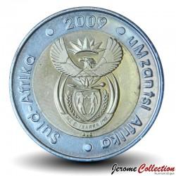 AFRIQUE DU SUD - PIECE de 5 Rand - Gnou - 2009