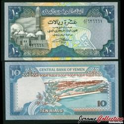 YEMEN - Billet de 10 Rials - 1992 P24a