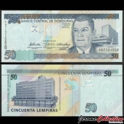 HONDURAS - Billet de 50 Lempiras - 06.05.2010 P94b