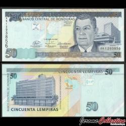 HONDURAS - Billet de 50 Lempiras - 17.04.2008 P94Ab