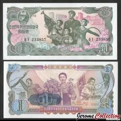 COREE DU NORD - Billet de 1 Won - 1978 P18e