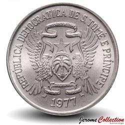 SAO TOMÉ-ET-PRINCIPE - PIECE de 2 Dobras - Chèvre et son chevreau - FAO - 1977