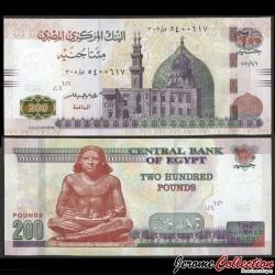 EGYPTE - Billet de 200 Pounds - Scribe - 6.9.2020 P77g35