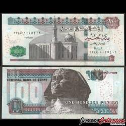 EGYPTE - Billet de 100 Pounds - Sphinx - 21.4.2020 P74f