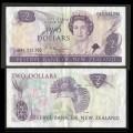 NOUVELLE-ZELANDE - Billet de 2 Dollars - Oiseau Xénique grimpeur - 1985 P170b