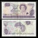 NOUVELLE-ZELANDE - Billet de 2 Dollars - Oiseau Xénique grimpeur - 1985
