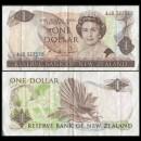 NOUVELLE-ZELANDE - Billet de 1 Dollar - Oiseau Rhipidura - 1985