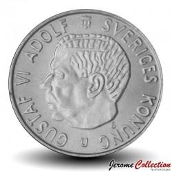 SUEDE - PIECE de 2 kronor - Gustaf VI Adolf - 1969 Km#827