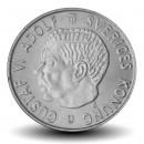 SUEDE - PIECE de 2 kronor - Gustaf VI Adolf - 1971