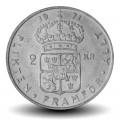 SUEDE - PIECE de 2 kronor - Gustaf VI Adolf - 1971 Km#827