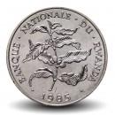RWANDA - PIECE de 10 Francs - Branche de caféier - 1985