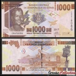 GUINEE - Billet de 1000 Francs - 2017 P48b