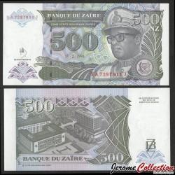 ZAIRE - Billet de 500 Nouveaux Zaïres - 15.2.1994 P64A2