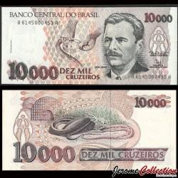 BRESIL - Billet de 10000 Cruzeiros - Serpent - 1992 P233b