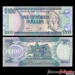 GUYANA - Billet de 100 DOLLARS - 2009 P36b1