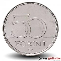 HONGRIE - PIECE de 50 FORINT - 52e Congrès eucharistique international - 2021