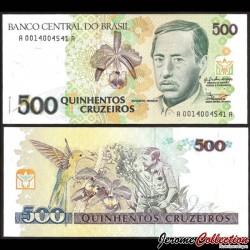BRESIL - Billet de 10000 Cruzeiros - Serpent - 1992