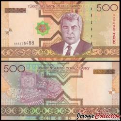 TURKMENISTAN - Billet de 500 Manat - 2005 P19a